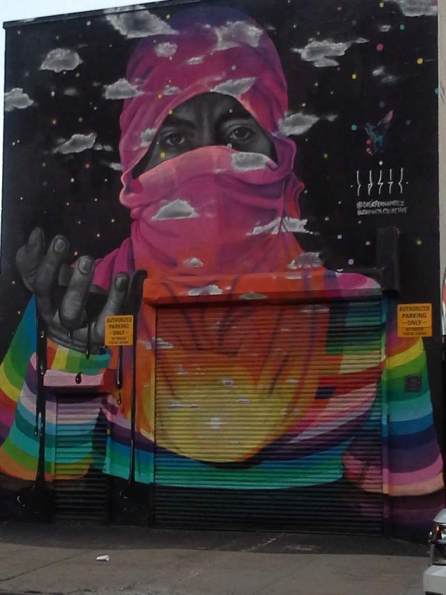Dasic Fernandez, the Bushwick Collective, NYC, street art