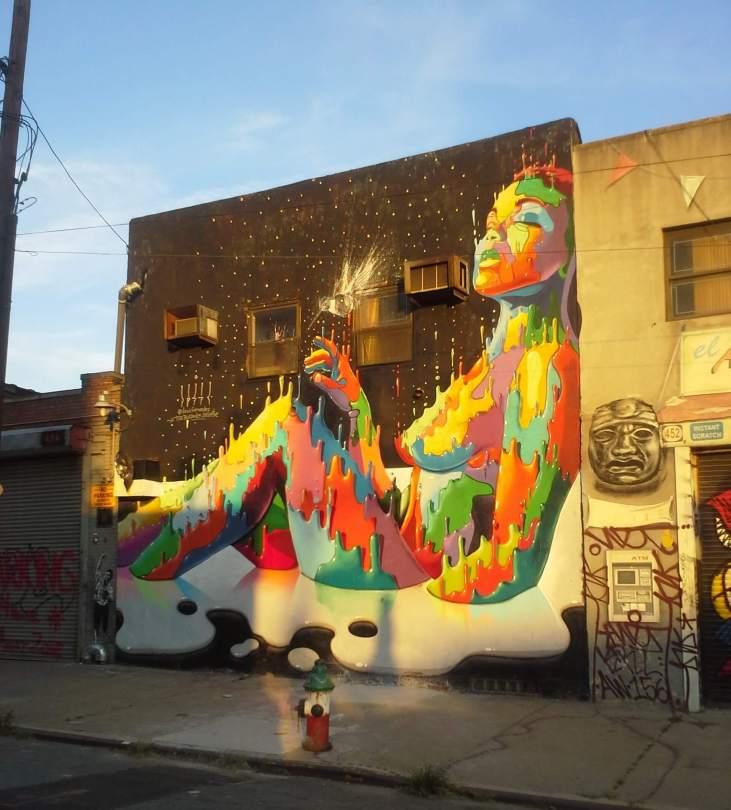 Dasic Fernandez, the Bushwick Collective, NYC
