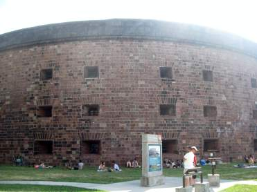 Castle WiIliams, Governor's Island, NYC
