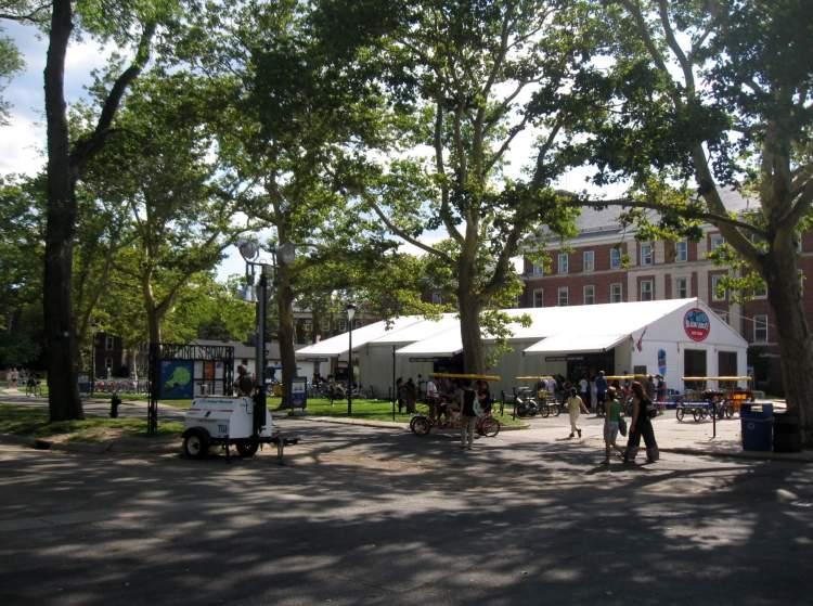 Bike and Surrey Rentals at Governors Island, NYC