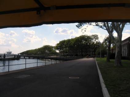 Bike Path on Governor's Island, NYC