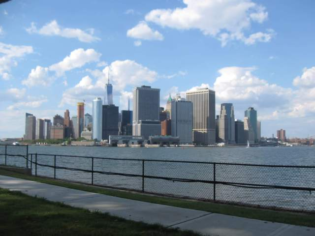 Views from Governors Island, NYC