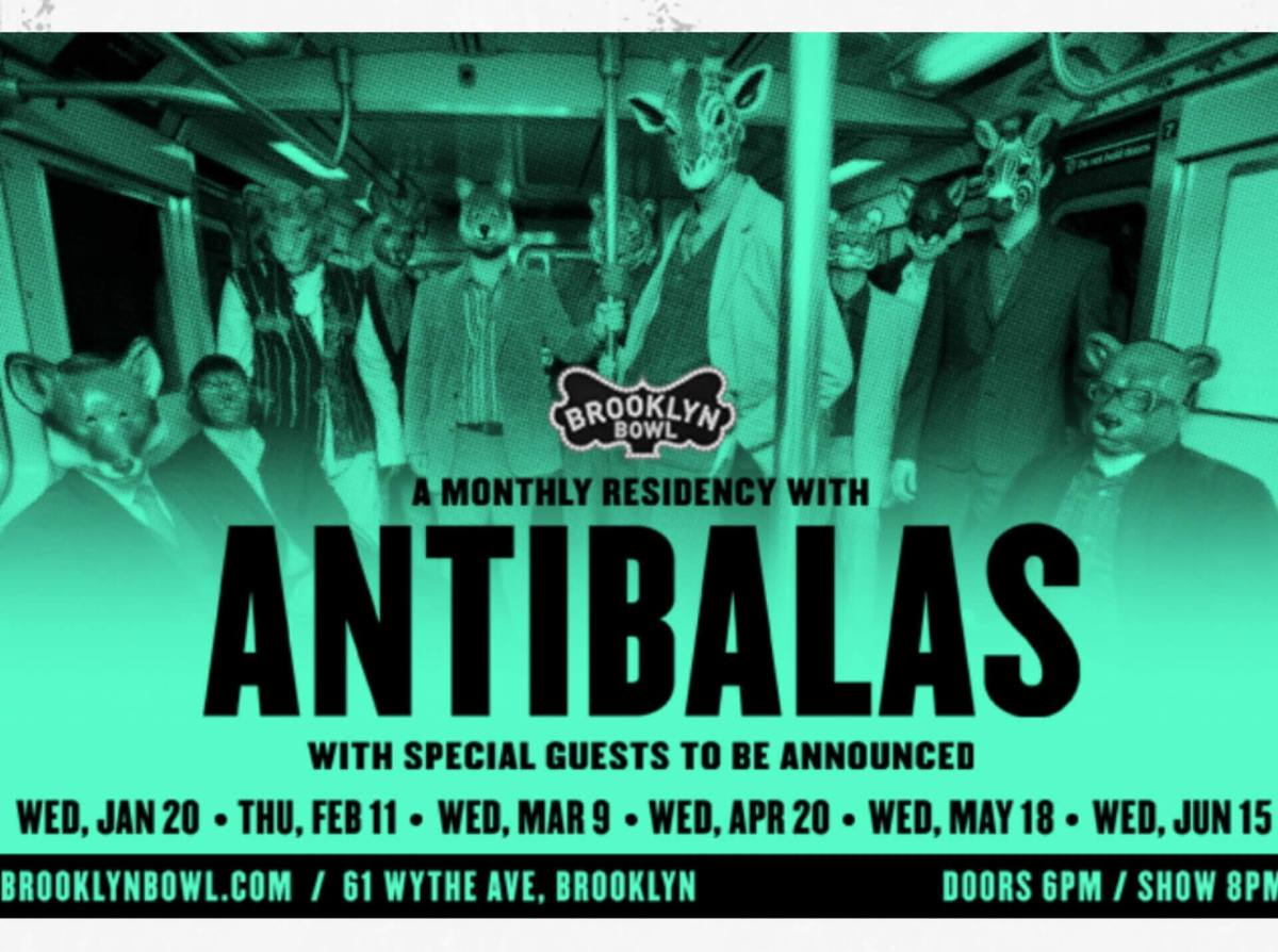 Antibalas at Brooklyn Bowl