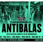 Anitbalas at Brooklyn Bowl