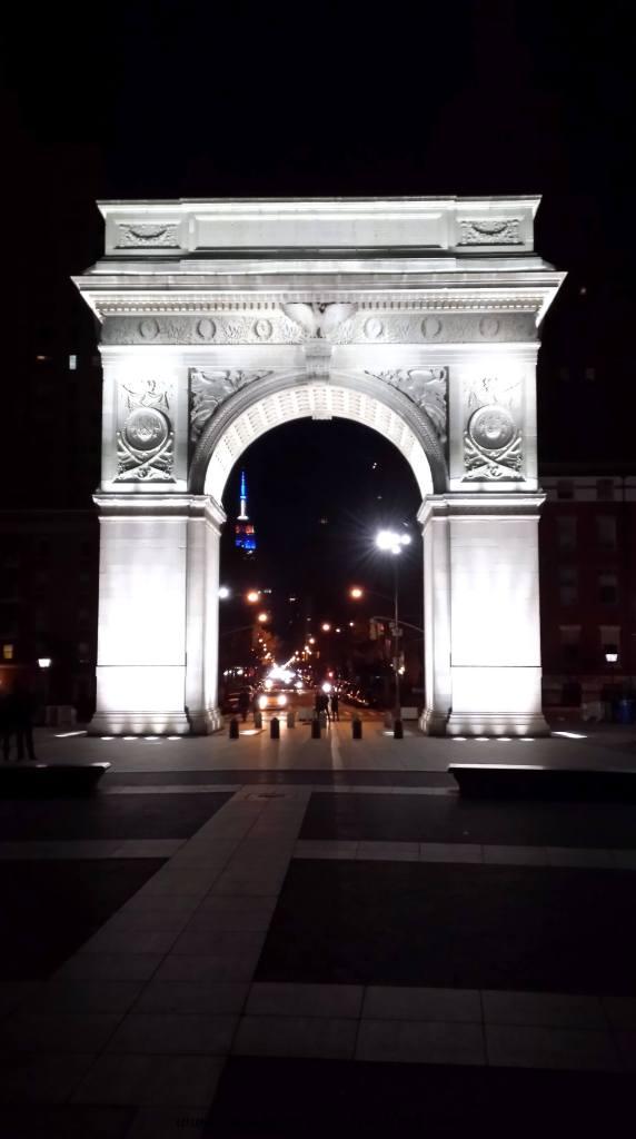 In Washington Square Park, NYC