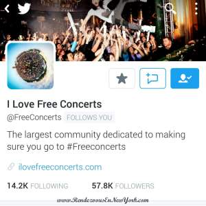 I Love Free Concertson Twitter
