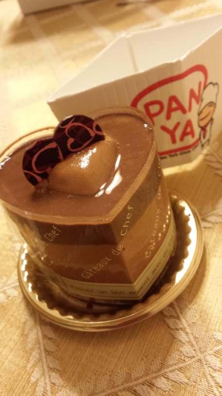 Chocolate orange mousse at Panya Bakery NYC