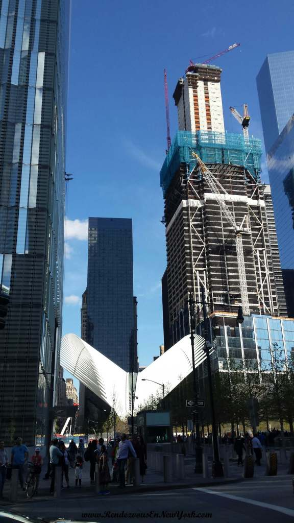 View from 9/11 memorial