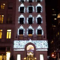 Harry Winston jewelers on Fifth Avenue , NYC, Christmas in july