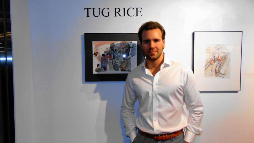 Tug Rice Art Show, NYC