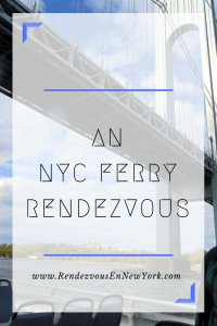 NYC Ferry, Rendezvous En New York