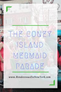 coney island mermaid parade brooklyn, nyc