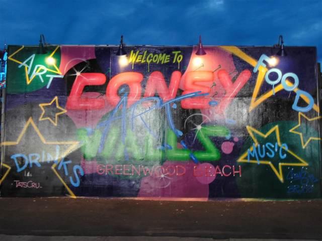Coney Art Walls Rendezvous En New York www.rendezvousennewyork.com