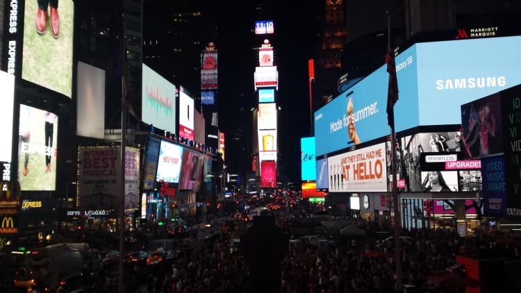 Times Square NYC, Rendezvous En New York