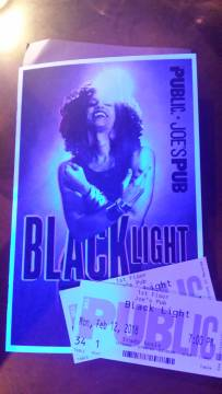 Black Light at Joe's Pub Public Theater , NYC Rendezvous En New York