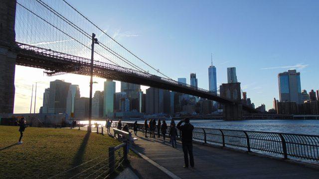 Brooklyn Bridge Park, Rendezvous En New York