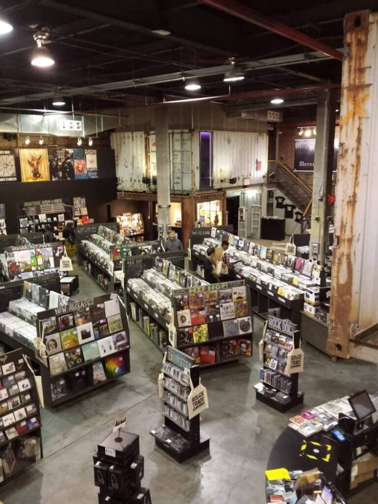 Rough Trade NYC in Williamsburg, Music Hotspots