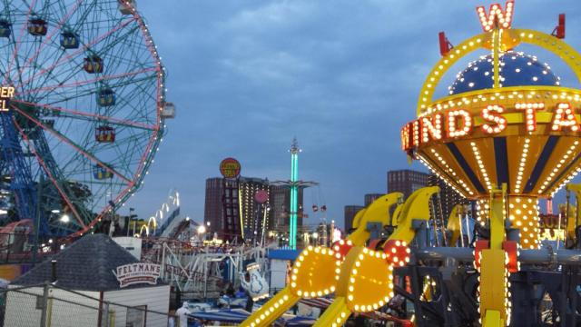 Theme Parks Coney Island Brooklyn NYC