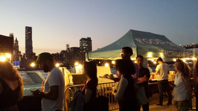 Movies With a View in Brooklyn Bridge Park, Rendezvous En New York