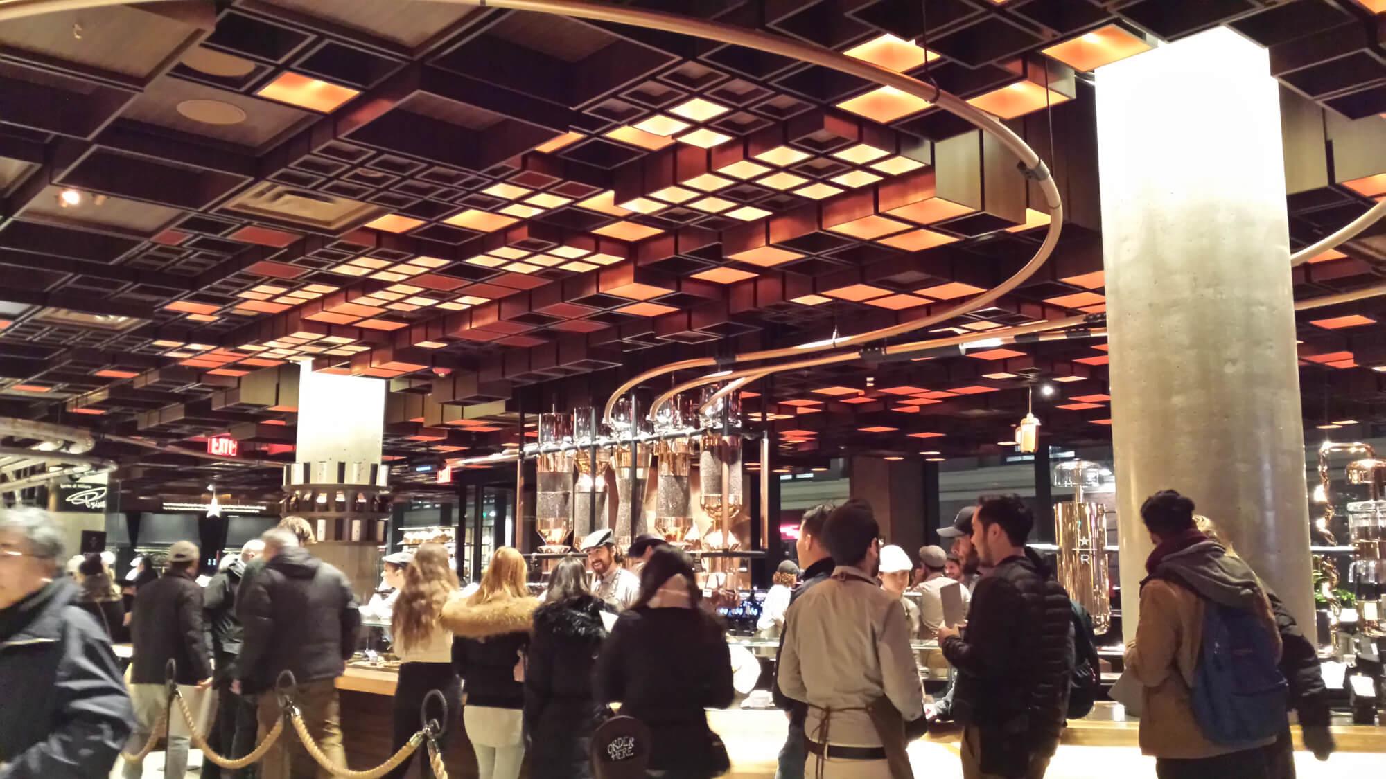 Six Reasons to Visit Starbucks Reserve Roastery