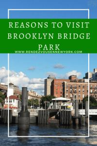 Reasons to Visit Brooklyn Bridge park in NYC, travel