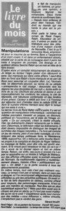 thumbnail of Le magazine 1996