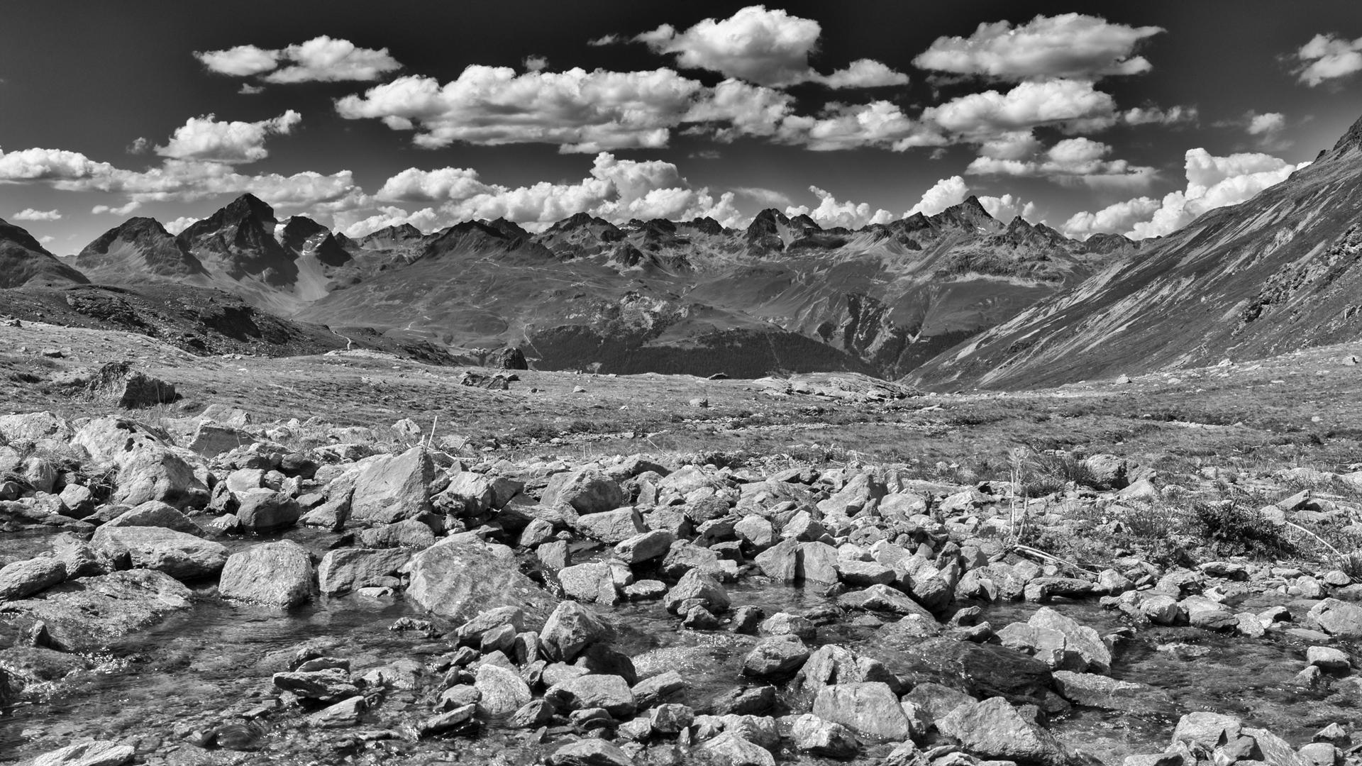 Wanderung über die Fuorcla Pischa zur Alp Languard