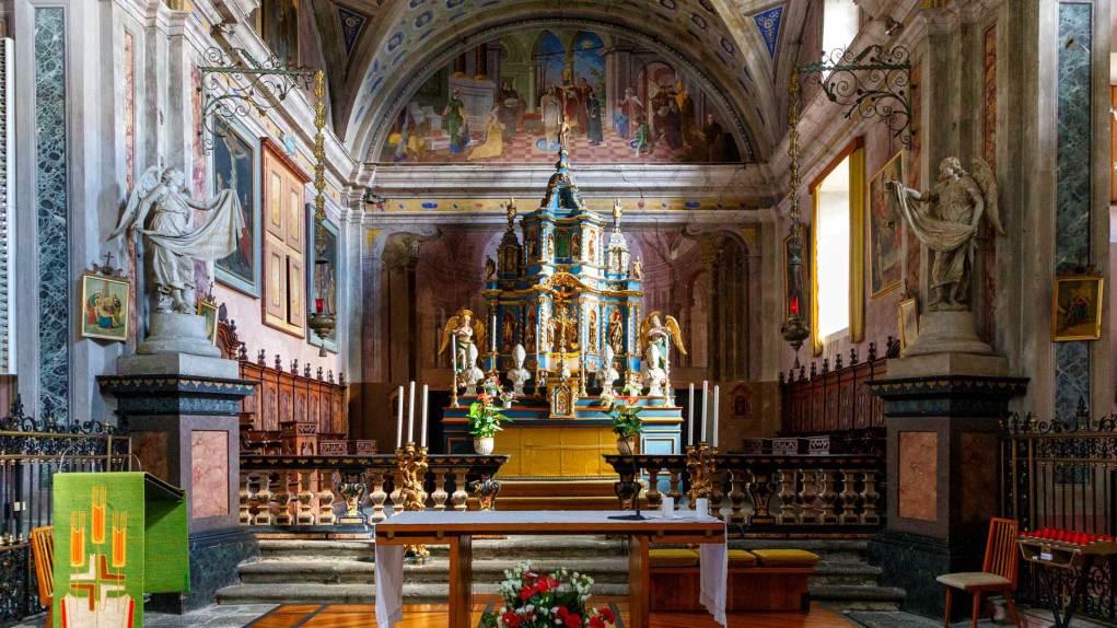 Kirche San Remigio mit Fresken