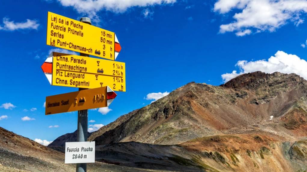 Wanderung über die Fuorcla Pischa