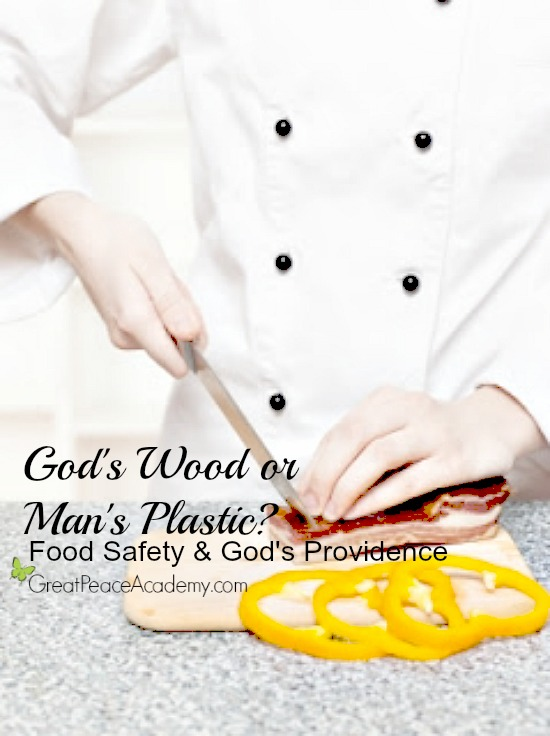 Food Safety and God's Providence. Which is Safer, Plastic or Wood?   Great Peace Academy