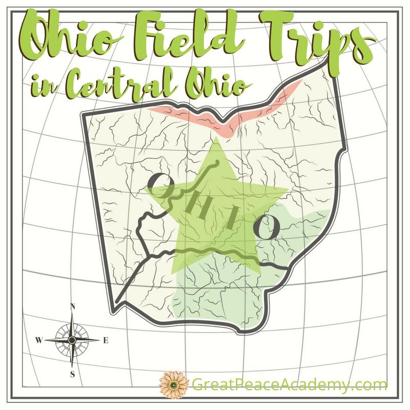 Central Ohio Field Trips for Homeschoolers to Explore | GreatPeaceAcademy.com #ihsnet #homeschool