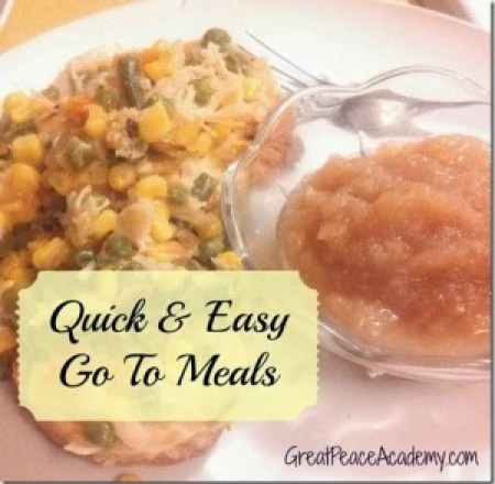 quick & easy meals