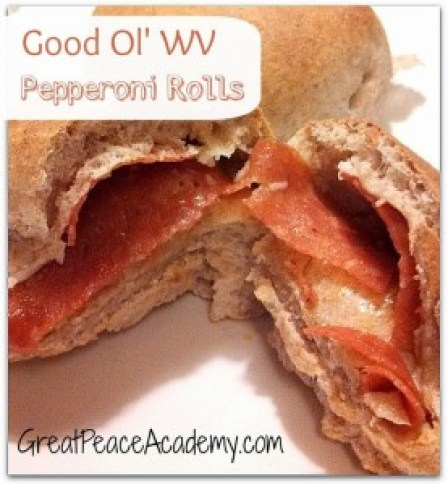 Good Ol' WV Pepperoni Rolls