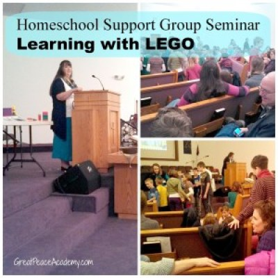 Homeschool Co-op Seminar about Learning with LEGO
