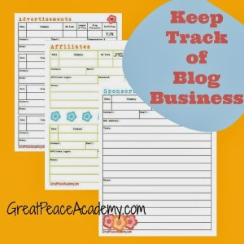 Blog Business Planner