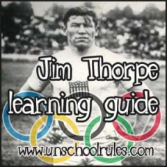 Learn about Olympian and Native American Jim Thorpe in this unit study guide for homeschoolers and unschoolers
