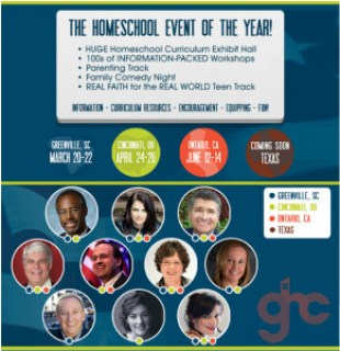 Homeschool Convention Locations, Dates and Speakers