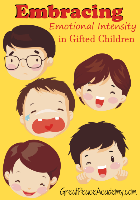 Dealing with Gifted Intensity, Homeschooling children with Emotional Intensity
