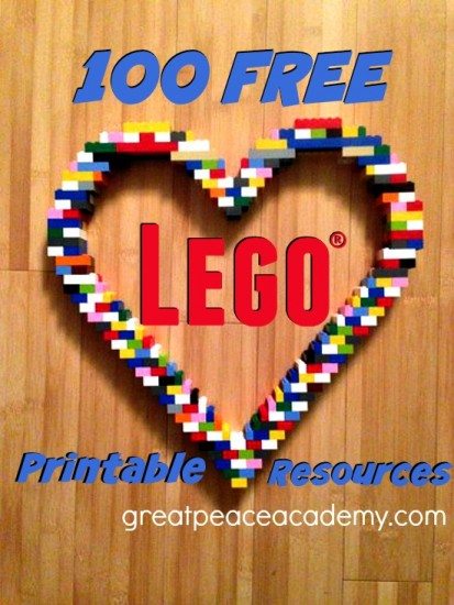 100+ Free Lego Learning Printable Resources | Great Peace Academy