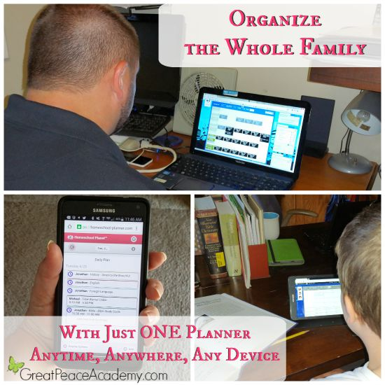 Organize the whole family with just ONE Planner. | Great Peace Academy