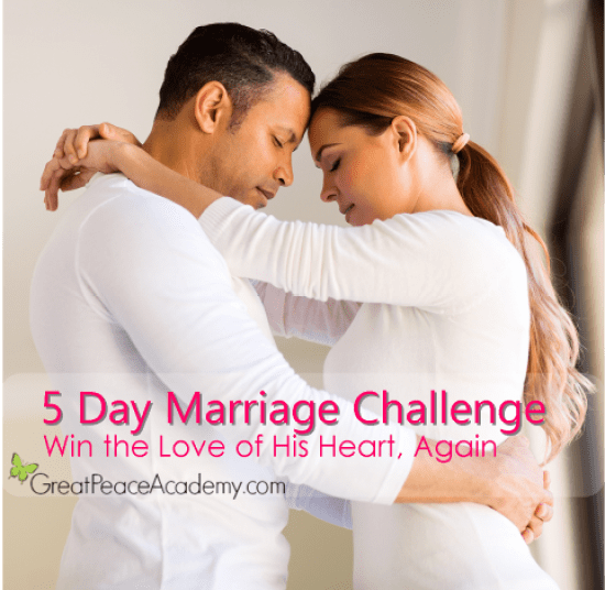 5 Day Marriage Challenge | Marriage Moments with Great Peace Academy