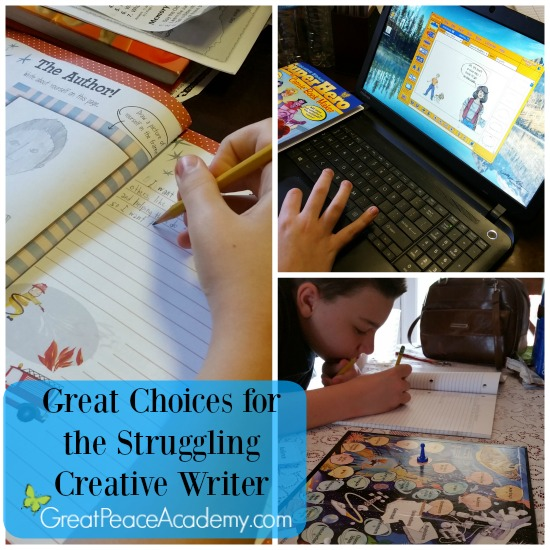 Solving my pre-teen's creative writing struggle | Great Peace Academy #ihsnet @rainbowresourc1