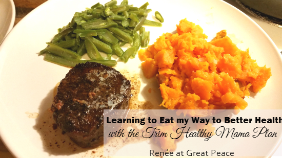Learning to Eat my Way to Better Health with #TrimHealthyMama | Renée at Great Peace Academy