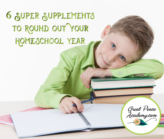 #ad 6 Super Supplements to Round Out Your Homeschool   GreatPeaceAcademy