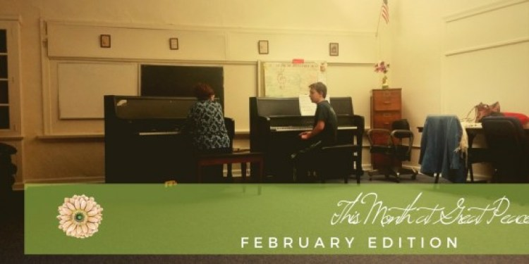 This Month at Great Peace Academy | #ihsnet #homeschool #family