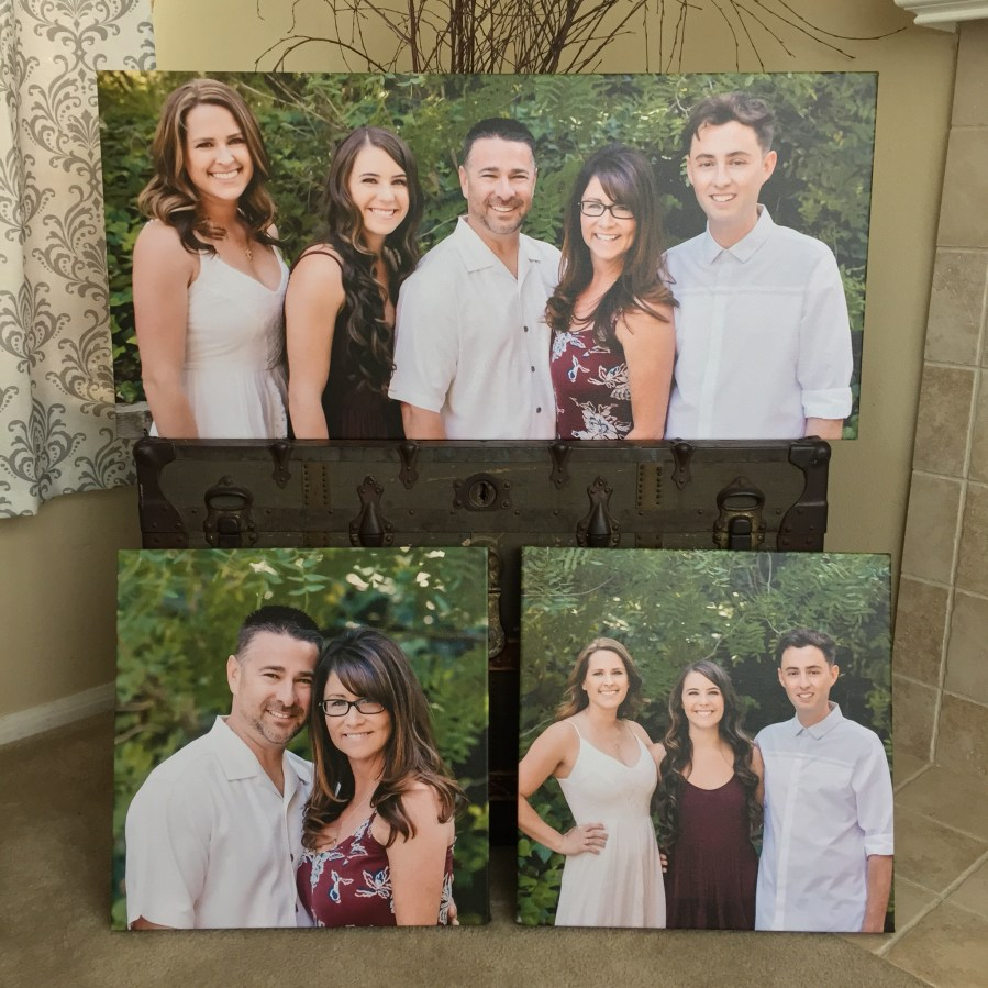 canvas prints, renee bowen products, custom wall canvas, professional photography, los angeles photographer, senior portraits