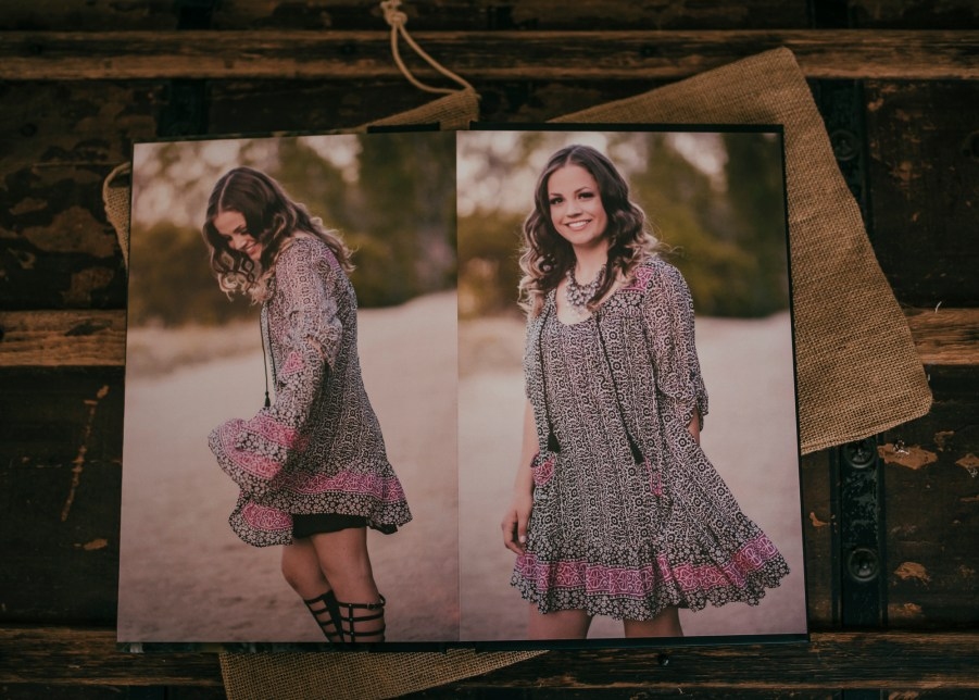 custom designed albums, senior portraits, renee bowen products