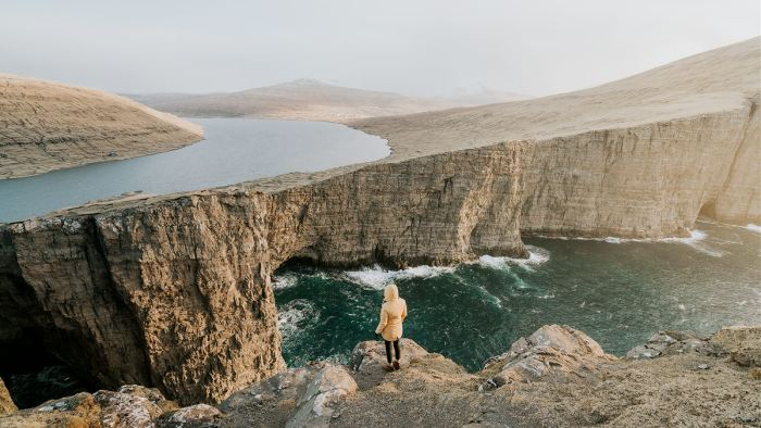 Leitisvatn Faroe Islands - Renee Roaming