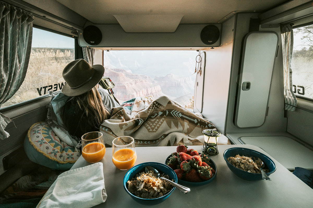Van Life Grand Canyon - Renee Roaming