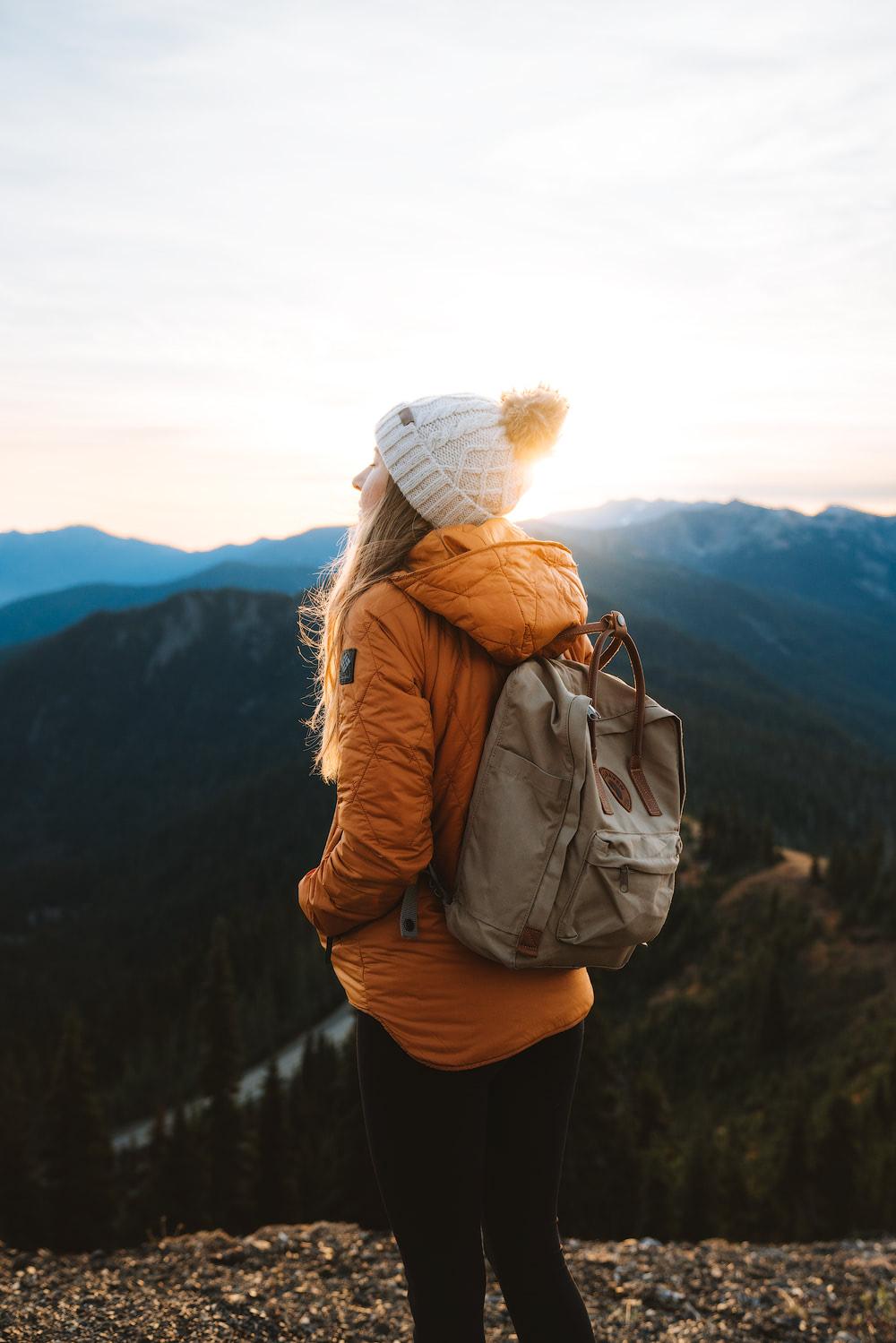 Olympic National Park Adventure Getaway 24 Hour Itinerary from Seattle Renee Roaming Hurricane Ridge Sunrise 4